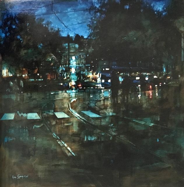 , 'The Tram at Night,' 2019, GALLERI RAMFJORD