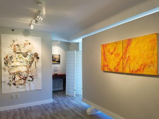 Susan Reid Danton, 'His Last Act', 2019, Painting, Acrylic/Oil/Mixed Media/Board, Miller White Fine Arts