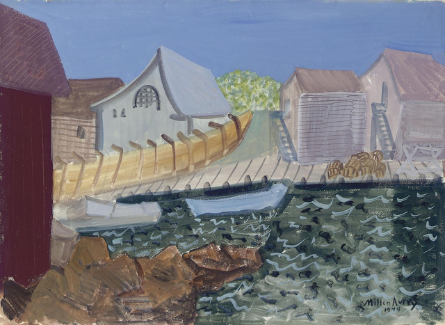 , 'Fishing Harbor,' 1944, Hollis Taggart