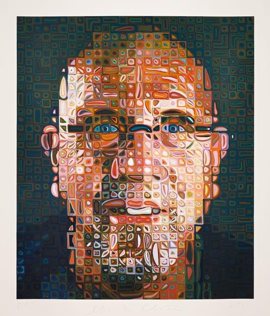, 'Self-Portrait Screenprint,' 2012, Utopia Art Sydney