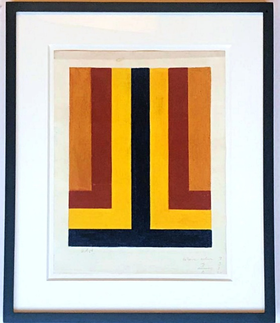 , 'Untitled geometric abstraction,' 1964, Alpha 137 Gallery