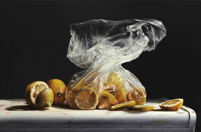 , 'Lemons in Plastic,' 2019, William Baczek Fine Arts