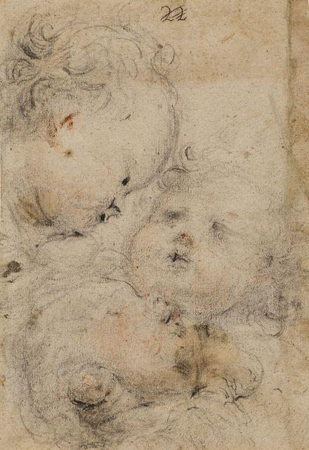 , 'Study of three putti,' ca. 1660, Artur Ramon Art