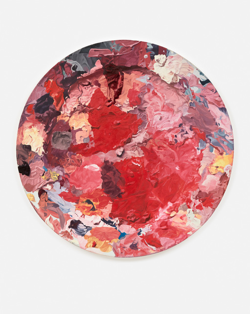 Piotr Nathan, 'Farbensammler / colourcollector', 1990, Painting, 0il on canvas, Brutto Gusto