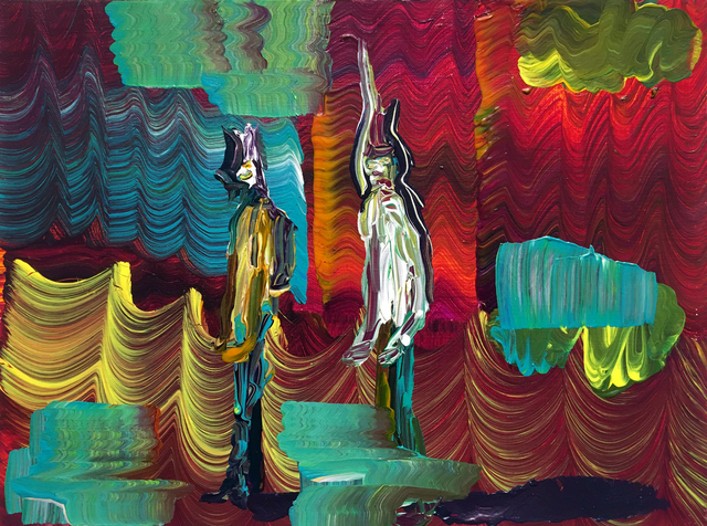 , 'Sequencer - Spectrum - Reverb,' 2016, Luis De Jesus Los Angeles