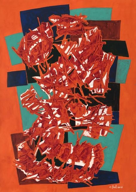 , 'Abstract No. 7,' 2018, Thomas Nickles Project