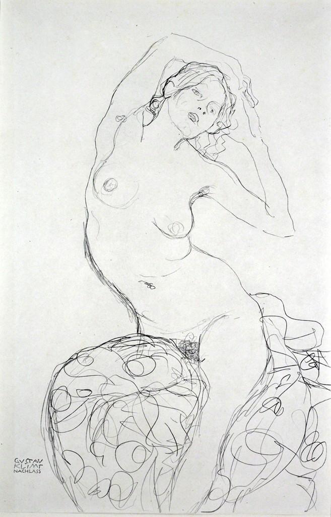 Seated Nude [Fünfundzwanzig Handzeichnungen]