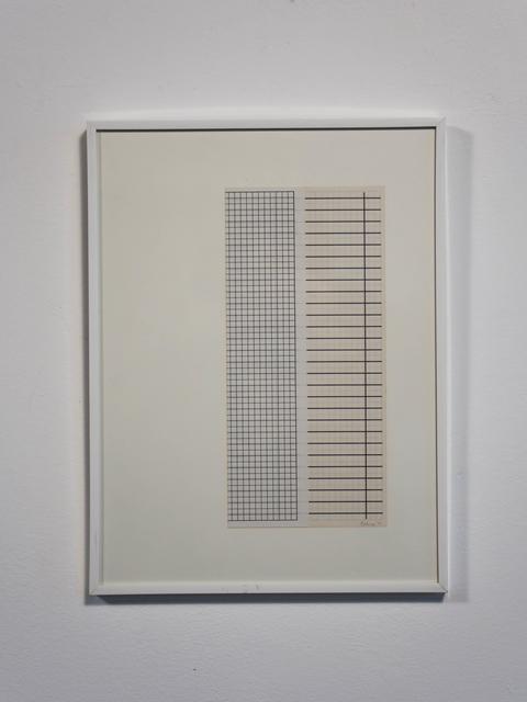 , 'faltung - o.t.,' 1992, Edition & Galerie Hoffmann