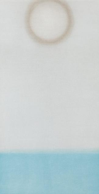 , 'Untitled (White/Blue Vertical),' 2017, Tayloe Piggott Gallery