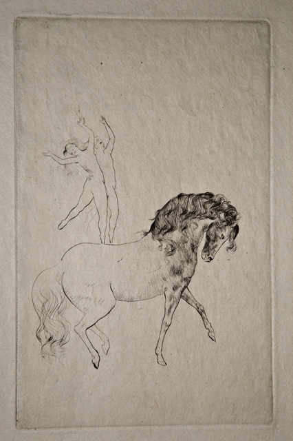 , 'Au Cirque,' 1905, John Szoke