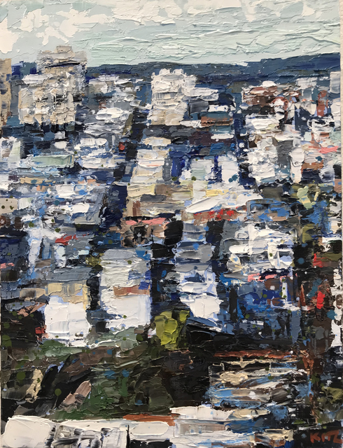 , 'SF Study - Telegraph Hill,' 2017, Seager Gray Gallery