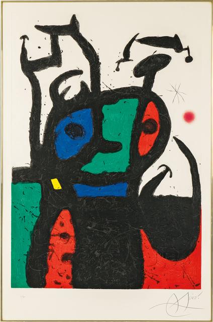 Joan Miró, 'Le matador', 1969, Skinner