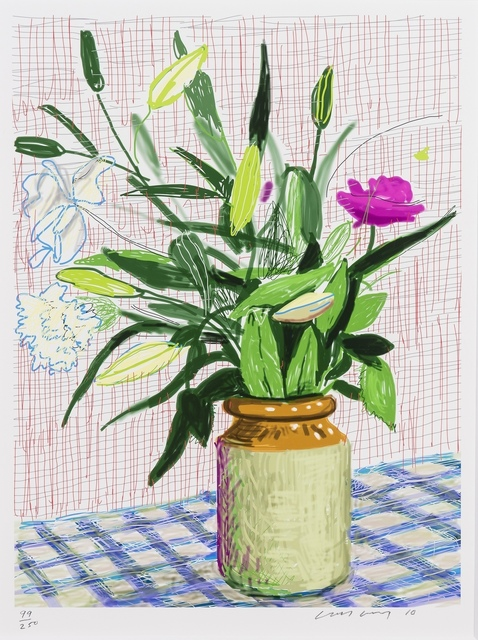 David Hockney, 'Untitled No. 516, from A Bigger Book: Art Edition D', 2010/2016, Forum Auctions