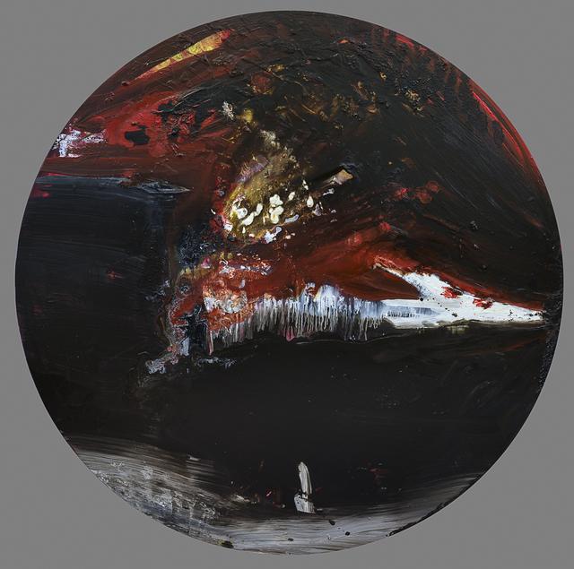 , 'Tondo,' 2014, La Patinoire Royale / Galerie Valerie Bach