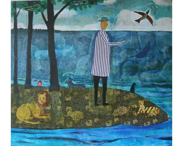 , 'Island of Endangered Species,' , Clark Gallery