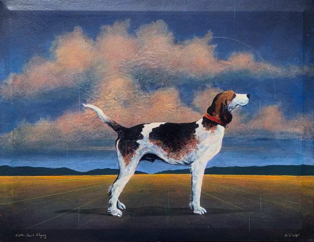 William Dunlap, 'Walker Hound and Allegory', Greg Thompson Fine Art