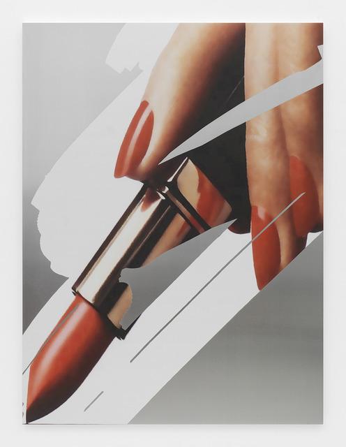 , 'Gesture (Lipstick 2),' 2015, Johannes Vogt Gallery