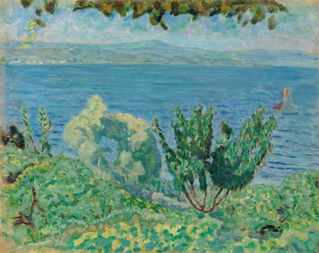 , 'Marine Saint-Tropez ( Les arbres et la mer),' 1911, Richard Green Gallery