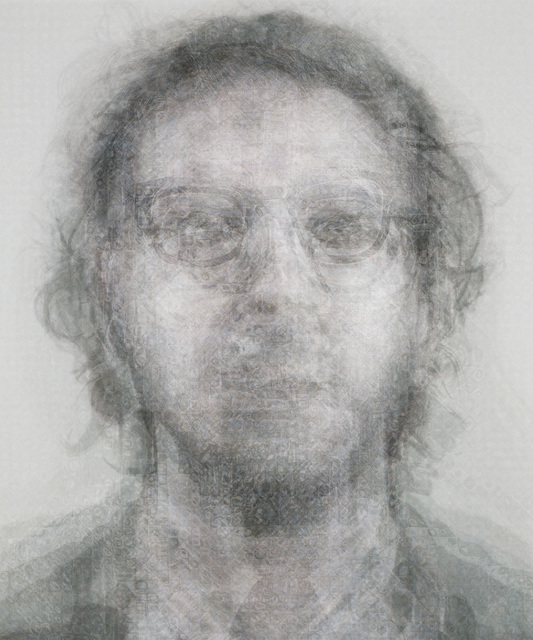 , 'Chuck Close B&W,' 2014, KLOMPCHING GALLERY