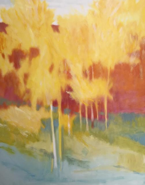 Marshall Noice, 'New Lone Pine Aspens', 2019, Ventana Fine Art