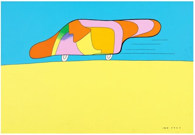 , 'Untiteld ,' 1968, Galerie F. Hessler