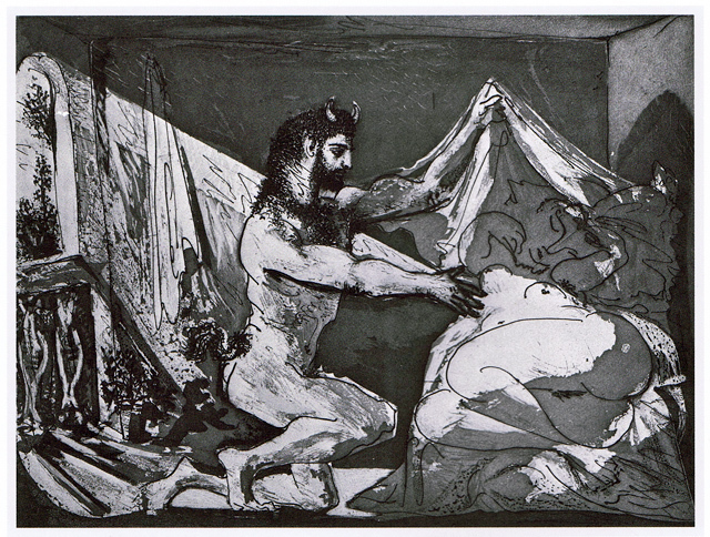 Pablo Picasso, 'Femme Devoilant une Dormeuse (Jupiter and Antiope, after Rembrandt)', 1936, Galerie Maximillian