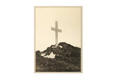 Robert Falcon Scott, The Memorial Cross Erected At Observational Hill To The Southern Party