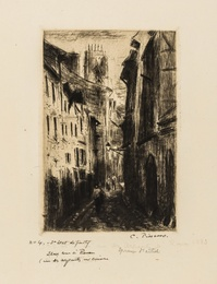 Une Rue à Rouen (Rue des Arpents)