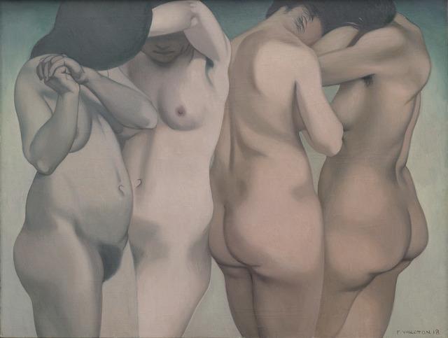 """, '""""Quatre torses"""",' 1918, Michael Werner Gallery"""
