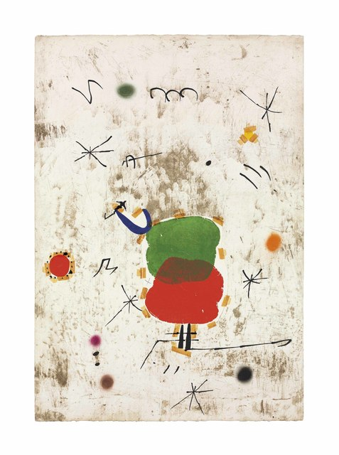 Joan Miró, 'Maquette for: Persontage I Estels I', 1979, Christie's