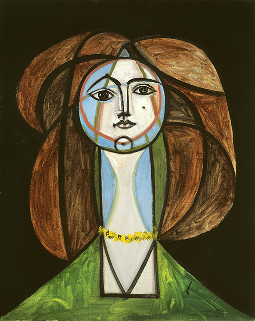 , 'Femme au collier jaune,' May 31-1946, Vancouver Art Gallery