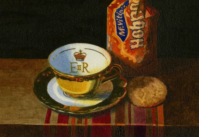 , 'Hobnobbing with the Queen,' , Mall Galleries