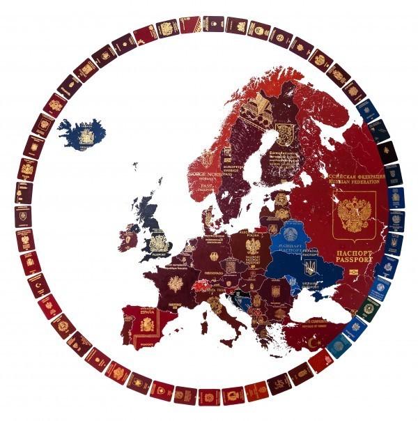 , 'Europe 2019 (Blue Britain),' 2018, TAG Fine Arts