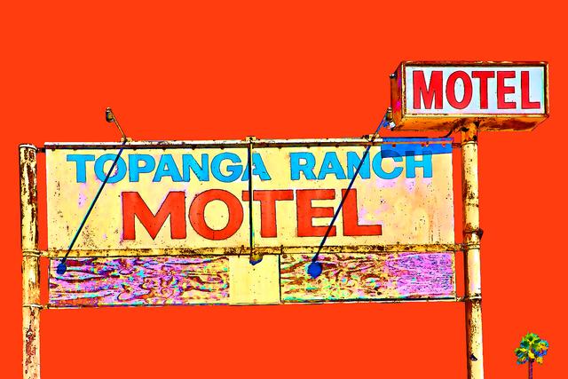 , 'Topanga Ranch Motel #4,' 2018, Dab Art