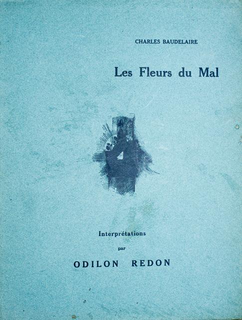 Odilon Redon, 'Les Fleurs du Mal - Interprétation par Odilon Redon', 1923, Wallector