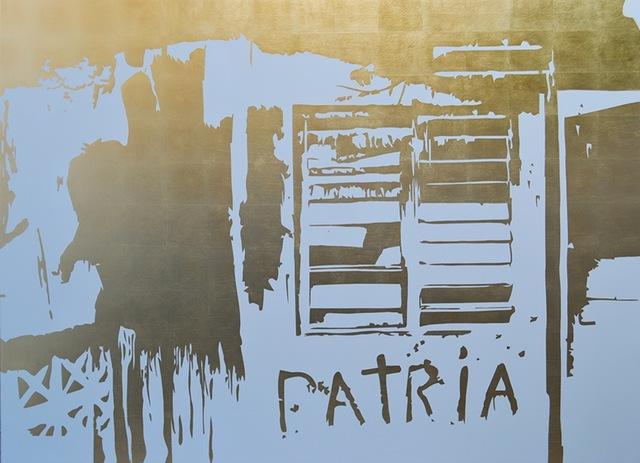 José Ángel Vincench, 'Pintura de accion (Patria)', 2018, 532 Gallery Thomas Jaeckel