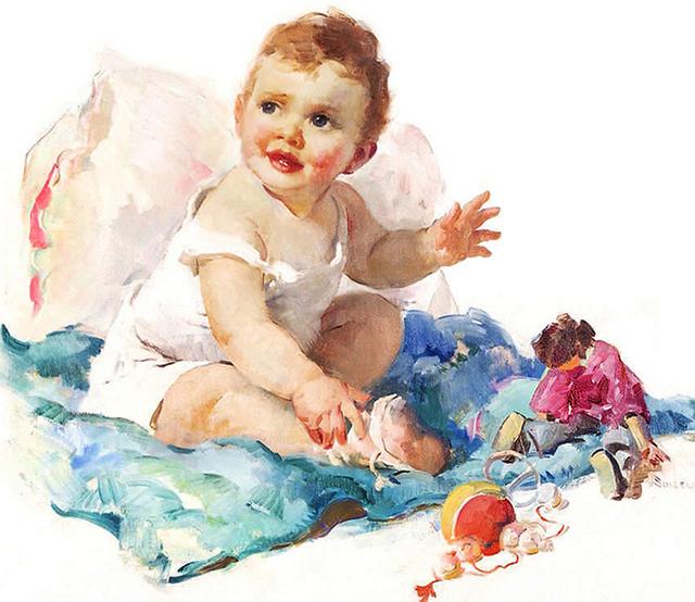 Haddon Sundblom, 'Baby', ca. 1930, Robert Funk Fine Art