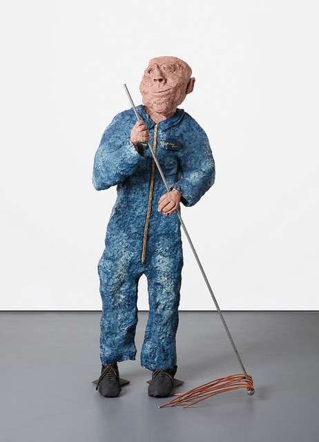 Will Ryman, 'Janitor, Henry', 2005, Sculpture, Steel, epoxy resin, expansion foam and copper, Phillips