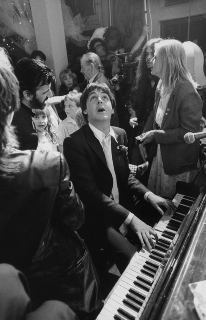 Terry O'Neill, 'Paul McCartney At Ringo Starr's Wedding, London', 1981, Huxley-Parlour