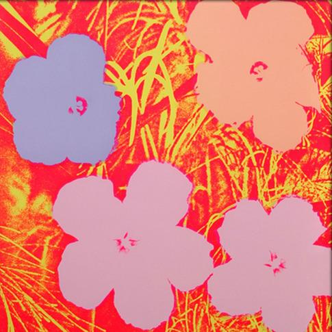 Andy Warhol, 'Flowers, II.69', 1970, Print, Screenprint on paper, Upsilon Gallery