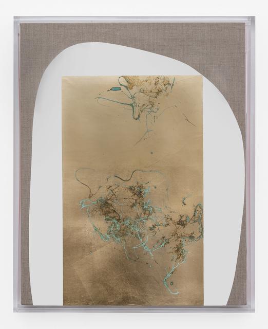 Pierre Vermeulen, 'Hair orchid sweat print, white form with vermillion', 2019, SMAC