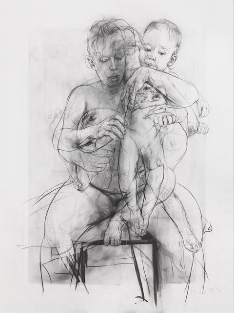 , 'Reproduction drawing III (after the Leonardo cartoon),' 2009-2010, Gagosian