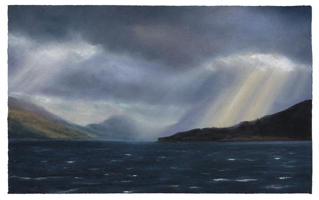 , 'Cloud Break, Crepuscular Rays series no 13,' 2019, The Scottish Gallery