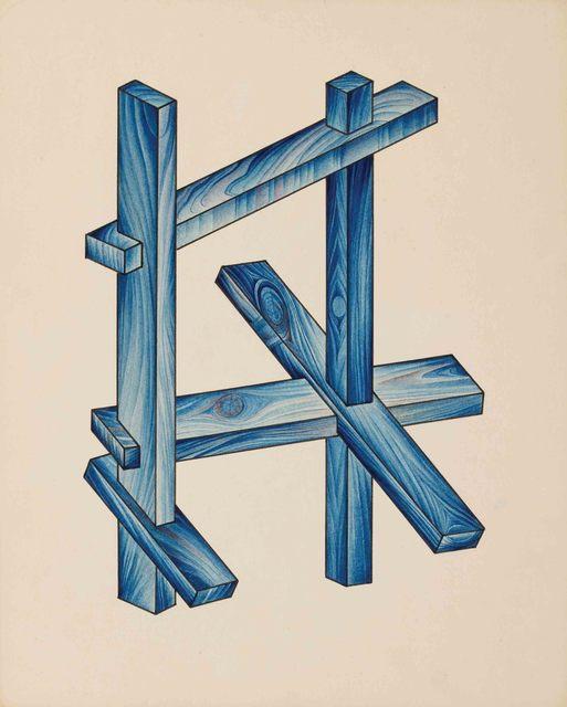 Yakov Chernikhov, 'from the series 'The Course of Dimensional Art'', ca. 1920, Alon Zakaim Fine Art