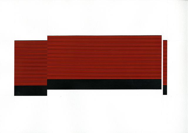 , 'Field/Terrace (Med. Orange 17),' 2016, Joseph Nease Gallery