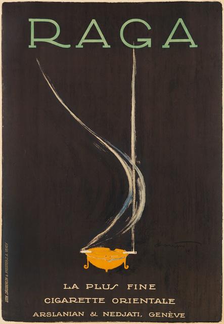 , 'RAGA CIGARETTES,' 1919, Omnibus Gallery