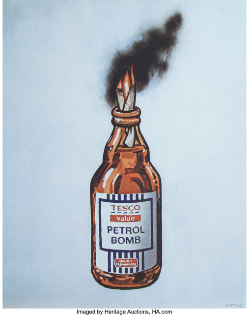 Banksy, 'Tesco Value Petrol Bomb (poster)', 2011, Heritage Auctions