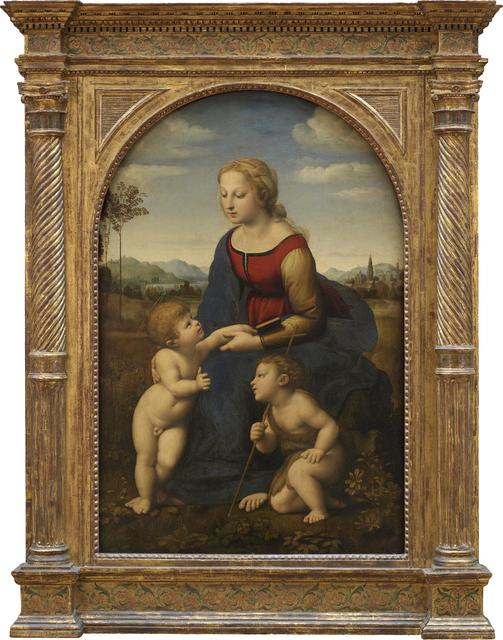 Raphael, 'La Vierge et l'enfant avec le petit saint Jean-Baptiste, dite La Belle Jardinière (The Virgin and child with the infant Saint John)', Musée du Louvre