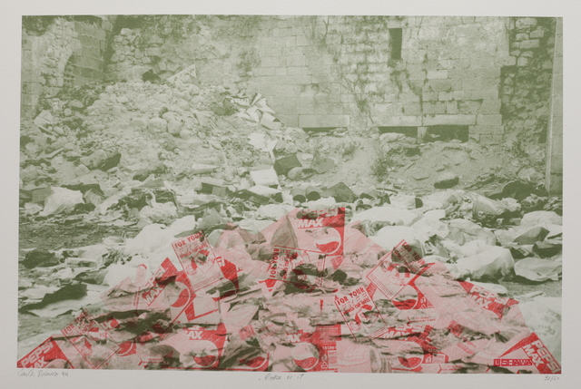 Laila Shawa, 'Of the series Wall of Gaza II: Coke is it!', 1994, Gallery One