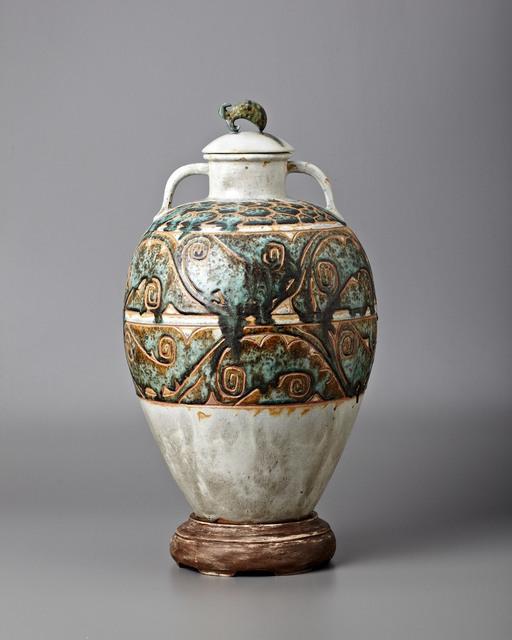 , 'Monumental Waves Vase,' ca. 1930, Jason Jacques Gallery
